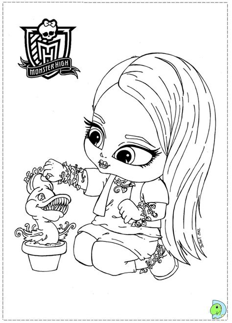 coloring pages of monster high dolls coloring best free