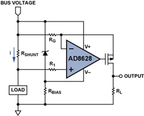 shunt resistor bandwidth high side current sensing with wide dynamic range three solutions analog devices