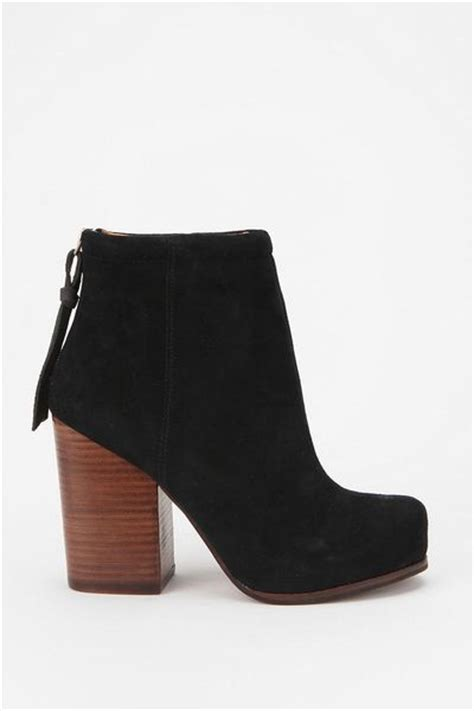 jeffrey cbell suede rumble boot in black lyst