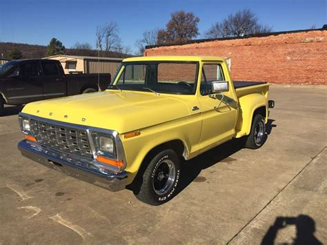 ford f10 1979 ford f10 stepside for sale quinton oklahoma