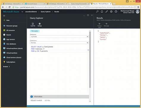 sql query in tutorial point documentdb sql composite sql queries