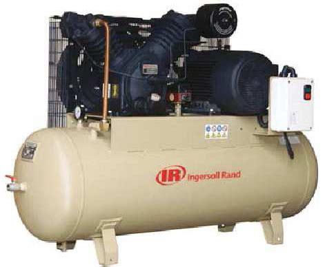 ingersoll rand ir air compressor model no 2545 tank capacity gt 40 litres rs 115000