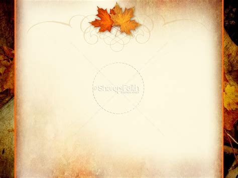 thanksgiving powerpoint template fall thanksgiving