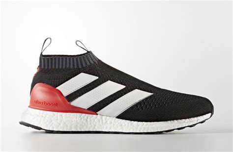 Sepatu Adidas Ace 16 Purecontrol Ultra Boost All Black Premium adidas ace 16 purecontrol ultra boost black sneakerb0b releases