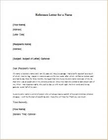 Reference Letter Exles For Nurses Sle Reference Letter For A Writeletter2