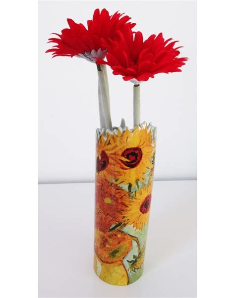 Gogh Flower Vase by Vase From Sunflowers By Gogh