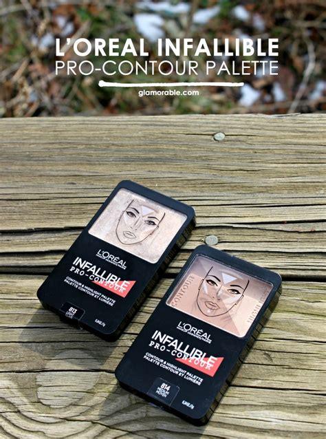 Harga L Oreal Infallible Pro Contour l oreal infallible pro contour palette review glamorable