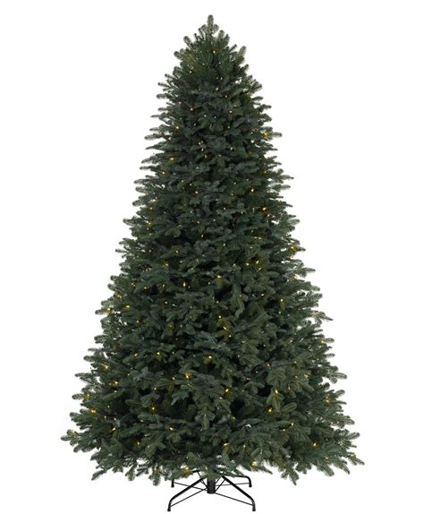 home accents sierra nevada fir tree 75 silver artificial tree trendy home accents foot prelit nevada