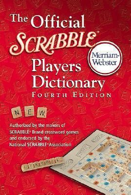 co scrabble dictionary the official scrabble players dictionary merriam webster