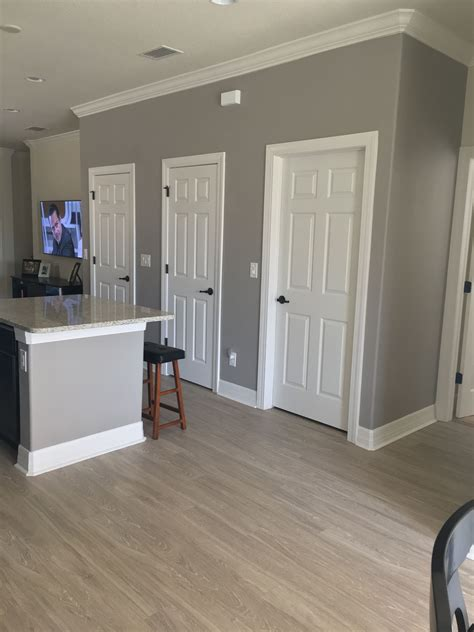 sherwin williams functional grey kitchen gray greypaint