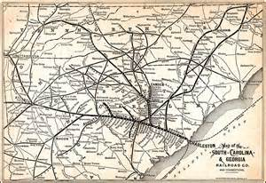 south carolina railroad map map