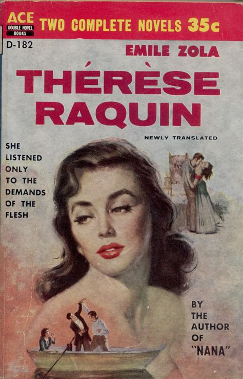 Therese Raquin ace potpourri image library literature of a sort ace doubles format paperback publication