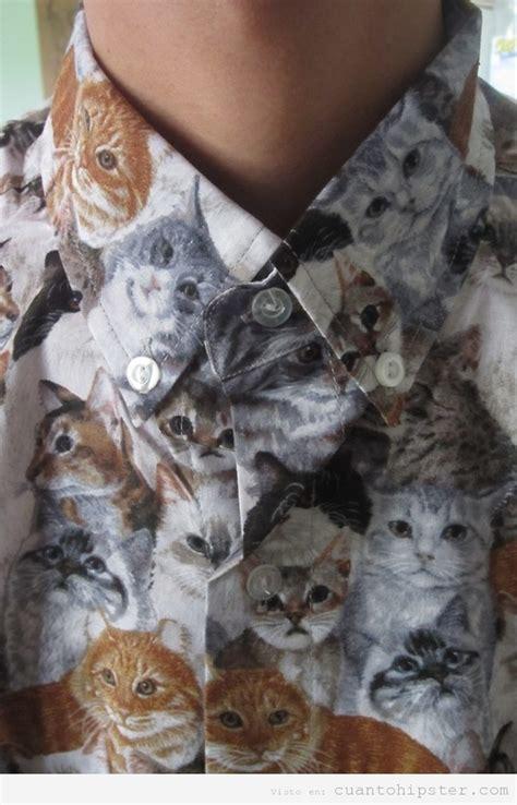 imagenes hipster gatos consejo de moda hipster del d 237 a camisa print gatos