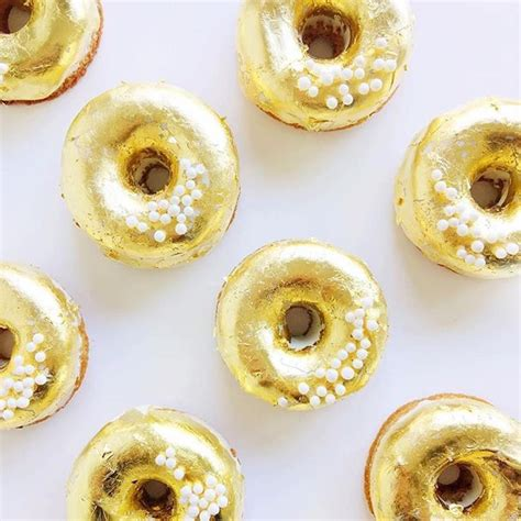 Donat Gold gold donuts cake dessert donuts