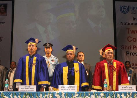 Ignou Mba Convocation by The President Shri Pranab Mukherjee At The 26th