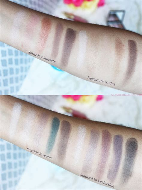 E L F Clay Eyeshadow Palette review swatches e l f clay eyeshadow palettes