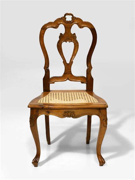 stuhl 19 jahrhundert stuhl nussbaum 2 h 228 lfte 19 jh antiquit 228 ten am markt