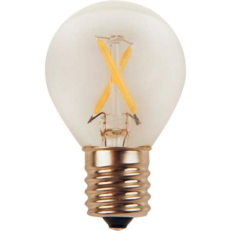 25 Watt Led Light Bulb Meridian 25 Watt Equivalent Bright White S11 Led Light Bulb 13169 The Home Depot