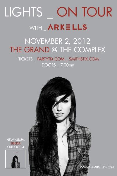 lights all ticket prices lights friday november 2nd 2012 at the complex salt