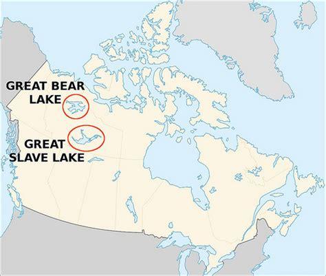 canada lake maps canada map great lake