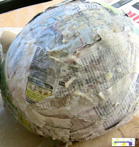 How 2 Make Paper Mache - how to paper mache make a bunny easter craft