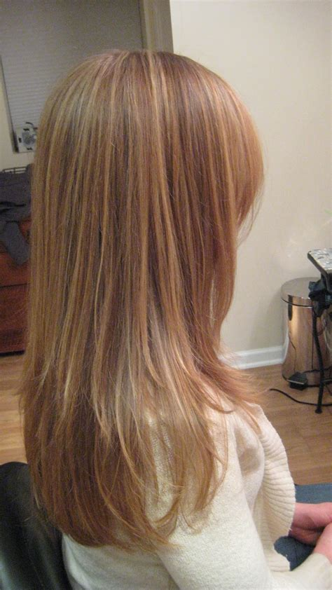 blonde highlights pictures 2011 hairstylist how to red hair with blonde highlights