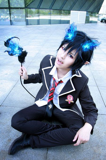 blue exorcist rin girl cosplay blue exorcist cosplay