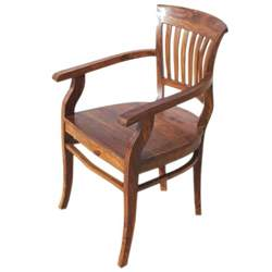 Wood Dining Arm Chairs Solid Wood Arm Dining Chair Furniture