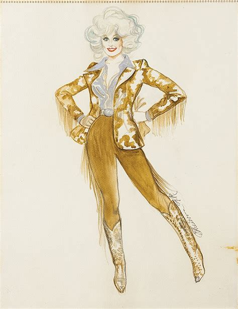 theadora runkle theodora runkle costume sketch for dolly parton in the b