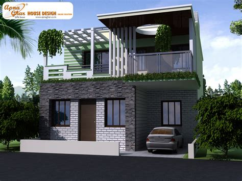 modern front elevation of duplex house www pixshark