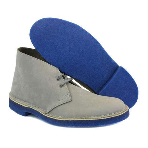 mens blue desert boots clarks originals desert boots 20353842 6 mens suede laced