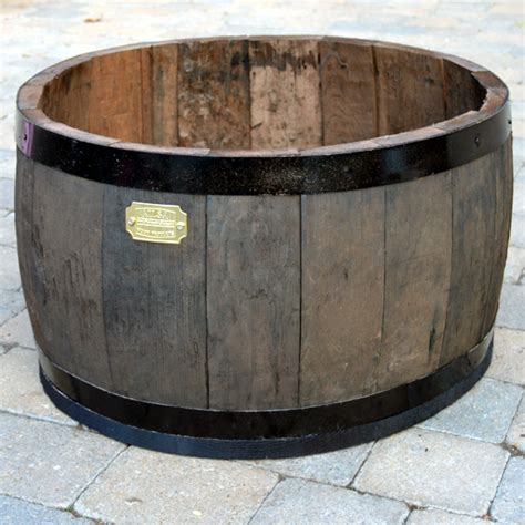 Oak Barrel Planter by Oak Barrel Planter Clarenbridge Garden Centre