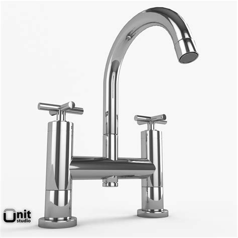 Hudson Reed Faucets bathroom faucets collection hudson reed helix 3d model