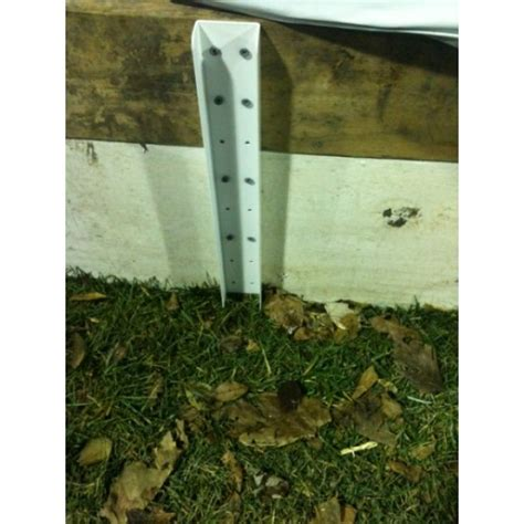 backyard ice rink brackets iron sleek extension bracket 4 pack rymar rinks