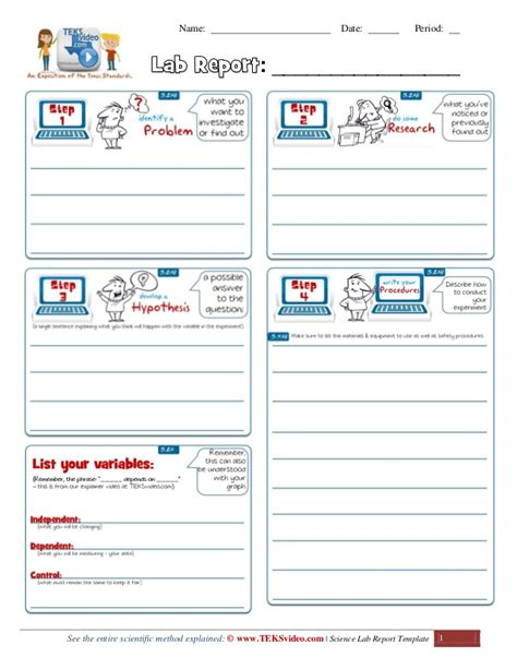science report template ks2 awesome science lab investigation report template