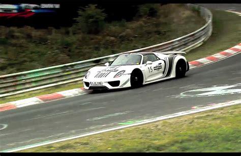 Porsche Nurburgring by Porsche 918 Spyder Nurburgring