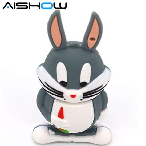 Flashdisk Unik Bugs Bunny 8gb bugs bunny usb flash drive daffy duck pen drive 4gb 8gb 16gb 32gb tweety usb stick