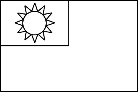 australia flag coloring page taiwan flag coloring page