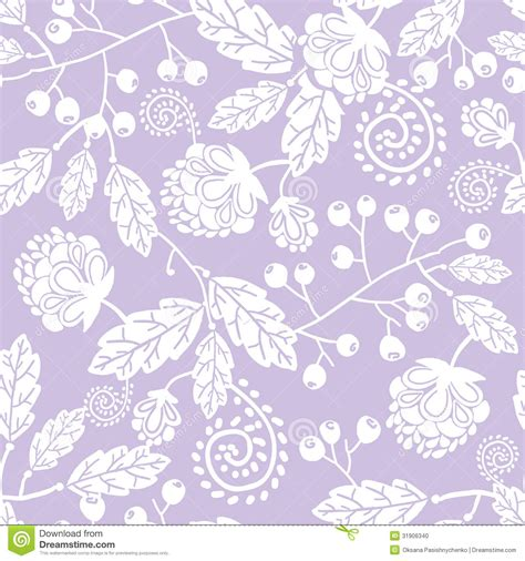flowers seamless pattern element vector background purple line art flowers seamless pattern vector