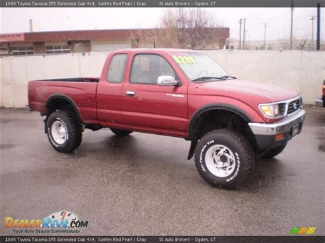 1996 Toyota 4x4 1996 Toyota Tacoma Sr5 Extended Cab 4x4 Sunfire Pearl