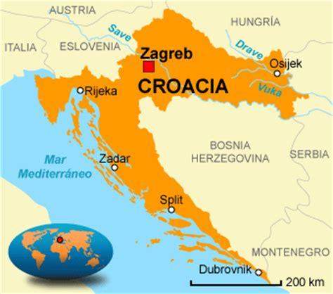 donde se localiza croacia cro 225 cia pa 237 s da europa infoescola