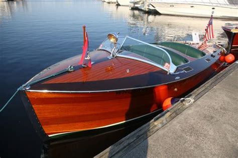 wood runabout boat kits the walnut stained covering boards on this classic boat