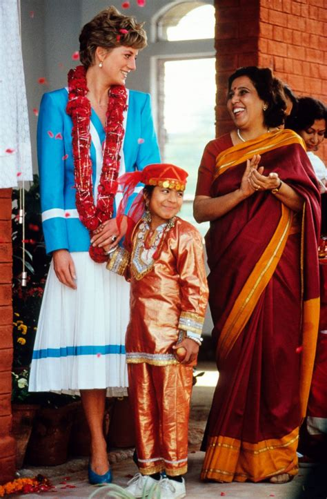Diana India New Hitam picture princess diana in india a look back abc news
