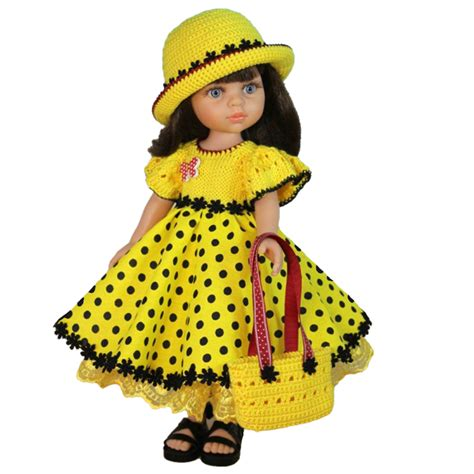 handmade american doll clothes summer dress with