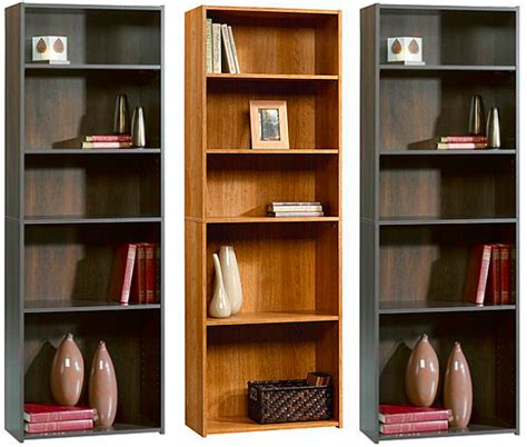 kmart 5 shelf bookcase kmart com sauder 5 shelf wood bookcases as low as 20 82