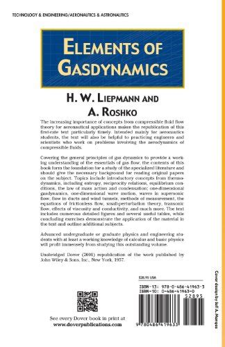 libro the 5 elements of libro elements of gasdynamics di h w liepmann a roshko