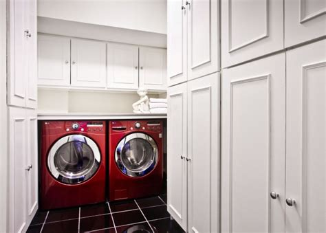 White Cabinets Laundry Room White Laundry Room Cabinets Contemporary Laundry Room Decor