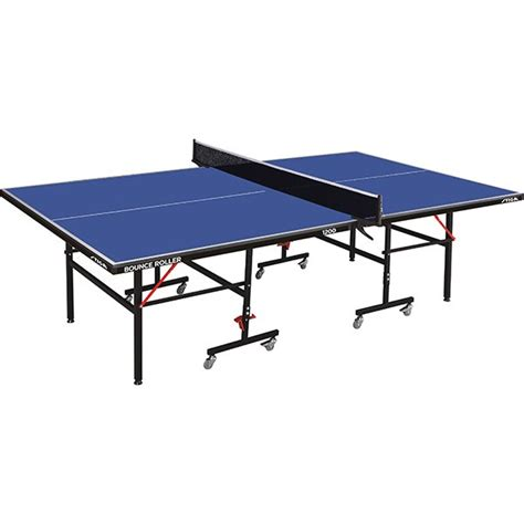 indoor table tennis table stiga bounce roller 12mm indoor table tennis table