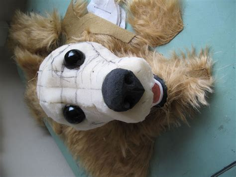 puppy puppet puppet for junior strachan