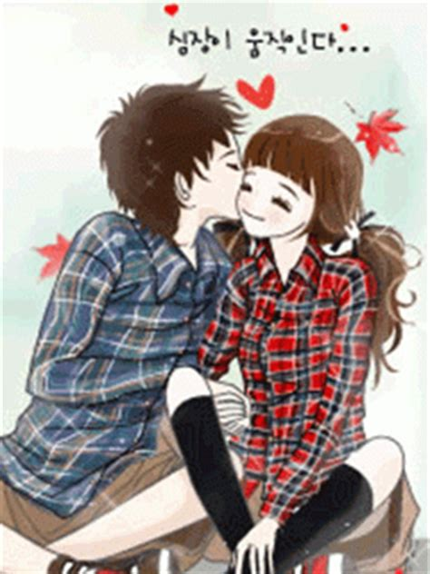 wallpaper cute korean couple kimikimocho sweet enakei
